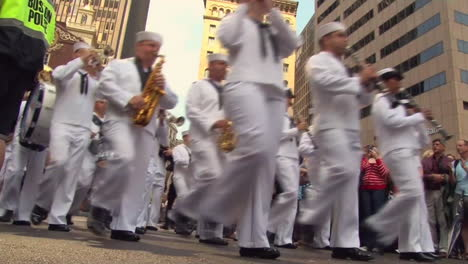 United-States-Navy-Sailors-Parade-Through-The-Streets-Of-Boston-1