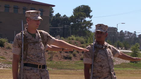 Us-Marines-Practice-Honor-Guard-Activities-During-A-Corporals-Course