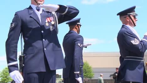 Us-Marines-Practice-Honor-Guard-Activities-In-Washington-Dc
