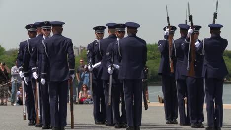 Us-Marines-Practice-Honor-Guard-Activities-In-Washington-Dc-1