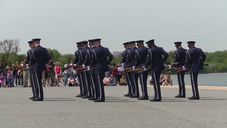 Us-Marines-Practice-Honor-Guard-Activities-In-Washington-Dc-2