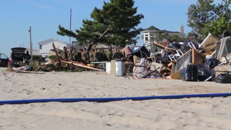 Marines-And-Army-Troops-Search-Through-Ruined-Homes-Following-Hurricane-Sandy-5