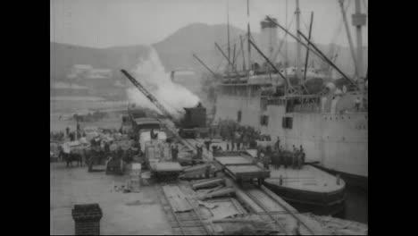 Archival-Film-Of-Vladivostok-Siberia-Russia-From-1918