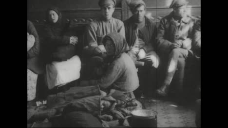 Archival-Film-Of-Vladivostok-Siberia-Russia-From-1918-Features-Poor-Jewish-Workers-And-Refugees