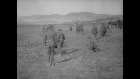 The-Russian-Army-Practices-Battlefield-Exercises-Near-Vladivostok-Siberia-Russia-From-1918