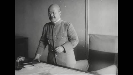 Japanese-High-Government-Officials-Pose-For-The-Camera-In-Russia-In-1918
