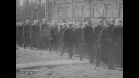 A-Russian-Funeral-Procession-Near-Vladivostok-Siberia-In-1918