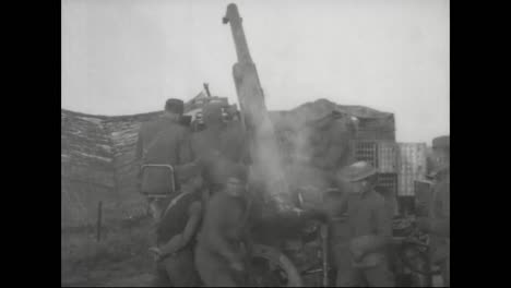 Artillery-Is-Used-In-World-War-One-As-Antiaircraft-Fire