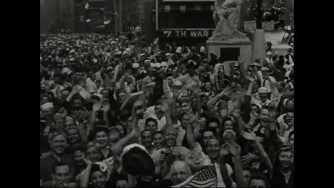 America-Celebrates-The-End-Of-World-War-Ii
