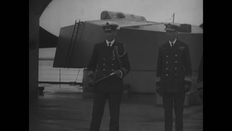 El-Rey-Jorge-V-Visita-El-Hms-Hercules-Y-El-Almirante-Sir-Doveton-Sturdee