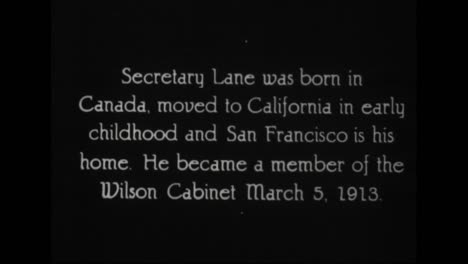 Se-Perfilan-Funcionarios-Prominentes-En-La-Administración-Del-Presidente-Woodrow-Wilson-De-1917-A-1921-Incluido-El-Secretario-Del-Interior-Franklin-Knight