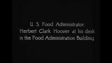 Prominent-Officials-In-The-19171921-President-Woodrow-Wilson-Administration-Are-Profiled-Including-Herbert-Hoover