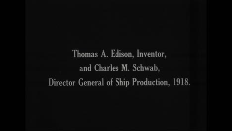 Thomas-Edison-In-1918-With-Charles-Schwab-Director-General-Of-Ship-Production-And-Posing-At-Home
