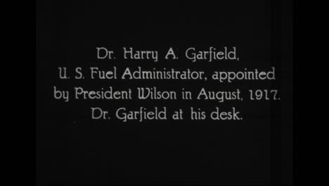 Se-Perfilan-Funcionarios-Prominentes-En-La-Administración-Del-Presidente-Woodrow-Wilson-De-1917-A-1921-Incluyen-Harry-Garfield-Administrador-De-Combustible-Estadounidense