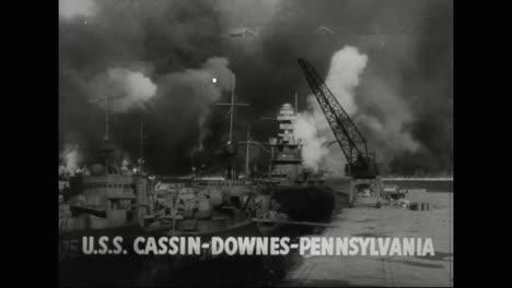 Hawaii-Wird-Am-7-Dezember-1941-Von-Den-Japanern-Angegriffen
