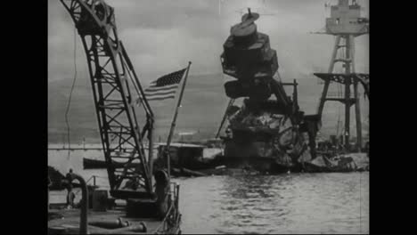 The-Aftermath-Of-The-Bombing-Of-Pearl-Harbor-Is-Explored-As-America-Heals
