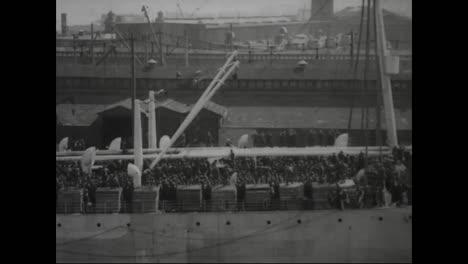Ships-Full-Of-Sailors-Depart-Hoboken-Harbor-In-1918-For-World-War-One