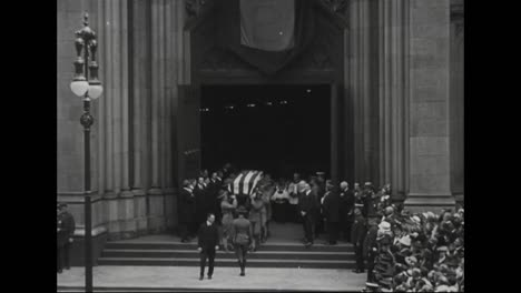 El-Funeral-Del-Alcalde-De-Nueva-York-John-P-Mitchell-En-1918