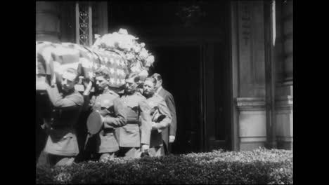 El-Cuerpo-Del-General-William-C-Gorgas-Es-Transportado-Por-Las-Calles-De-Washington-Dc-En-1920