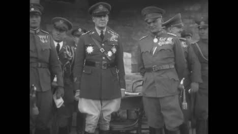 General-Douglas-Macarthur-Travels-To-Austria-In-The-1930S