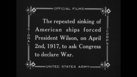 President-Woodrow-Wilson-Asks-Congress-To-Declare-War-In-World-War-One