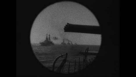 América-Prepara-A-Su-Armada-Para-Luchar-En-La-Primera-Guerra-Mundial-El-Rey-Jorge-Da-La-Bienvenida-A-La-Flota-De-La-Armada