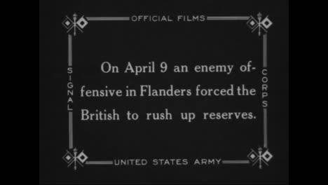 British-Troops-Fight-In-World-War-One-Near-Flanders
