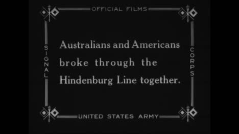 Australian-And-American-Troops-Fight-Together-In-World-War-One