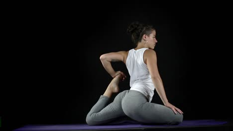 Lady-Doing-Yoga-Stretches-71