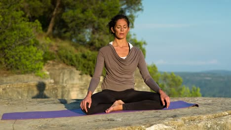 Woman-Doing-Yoga-Outside-11