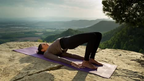 Woman-Doing-Yoga-Outside-14
