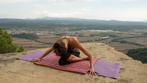 Woman-Doing-Yoga-Outside-36