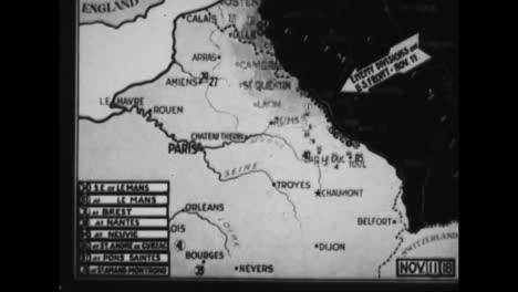 Die-Meuseargonne-offensive-Im-Ersten-Weltkrieg