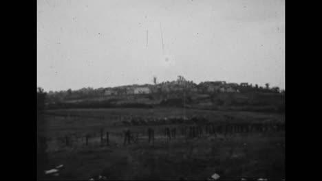 Die-Meuseargonne-offensive-Im-Ersten-Weltkrieg-Amerikanische-Truppen-In-Bewegung