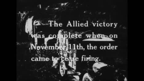 Las-Fuerzas-Aliadas-Celebran-La-Victoria-En-La-Primera-Guerra-Mundial