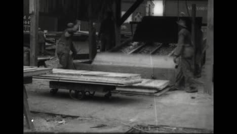 The-Workings-Of-A-Lumber-Mill-In-1918-Spray-Painting-Is-Introduced