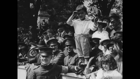 General-John-Pershing-Returns-From-World-War-One-Victorious-To-Loving-Crowds-In-1919-9