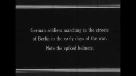 Captured-German-War-Film-From-World-War-One-Shows-Troops-Marching-In-The-Streets-Of-Berlin