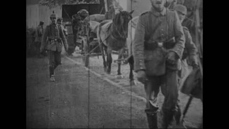 Captured-German-War-Film-From-World-War-One-Shows-Men-And-Machines-Heading-For-The-Front-Ines-Of-The-War