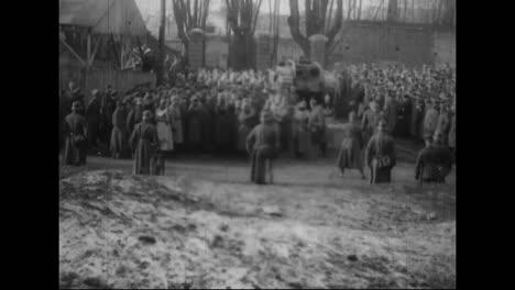 Captured-German-War-Film-From-World-War-One-Shows-British-Tanks-Captured-At-Cambrai-With-Kaiser-Wilhelm-Inspecting