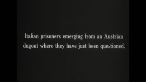 Captured-German-War-Film-From-World-War-One-Shows-Italian-Pows-Being-Questioned-In-Austria