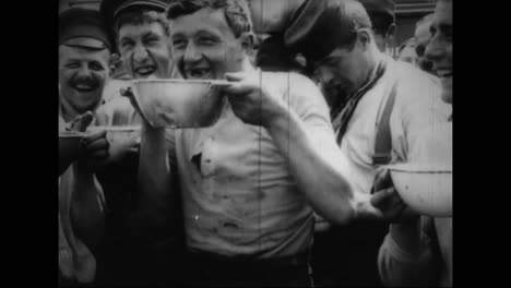 Captured-German-War-Film-From-World-War-One-Shows-A-Pow-Concentration-Camp