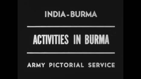 World-War-Two-Rages-In-Burma-And-Roads-Deteoriate