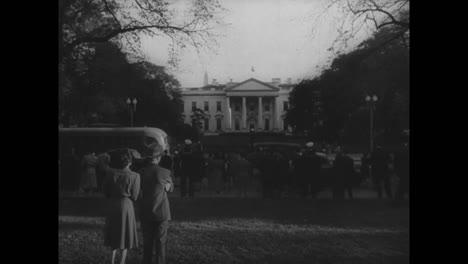 La-Muerte-Y-El-Funeral-Del-Presidente-Estadounidense-Franklin-Roosevelt-En-1945