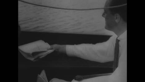 Escenas-De-La-Vida-Del-Presidente-Estadounidense-Franklin-Roosevelt-En-1945