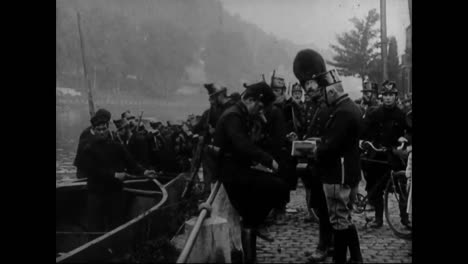 Footage-From-Army-Exercises-In-Belgium-And-France-In-1913