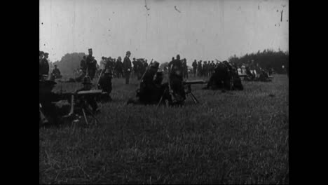 Early-Use-Of-Machine-Guns-On-The-Battlefield-In-France-1913