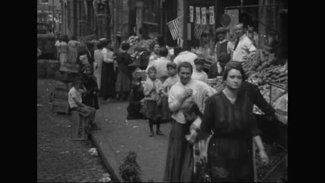 Boston-And-New-York-City-Urban-Poverty-Scenes-From-Early-1910S