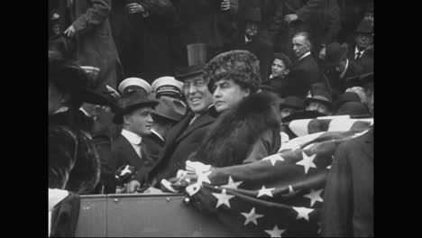 Woodrow-Wilson-Is-President-Of-The-United-States-In-1917