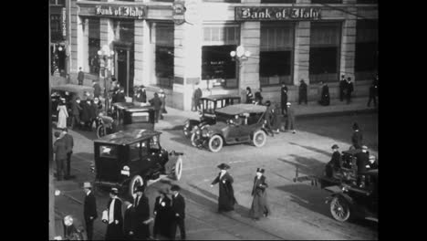 Traffic-And-Parking-Major-Issues-In-American-Big-Cities-In-1918